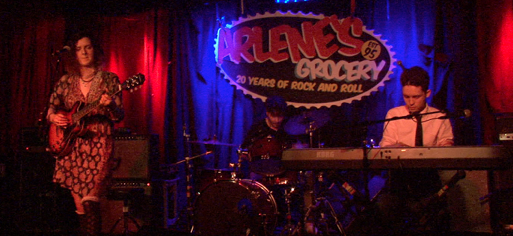 Arlene's Grocery in East Village, NYC (with Nicole Jean and Robby Castro)